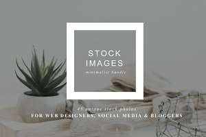 Stock Photo Bundle | Minimalist