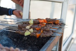 Israeli mixed grill
