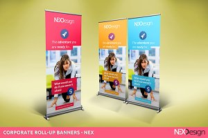 Corporate Roll-up Banners - nex