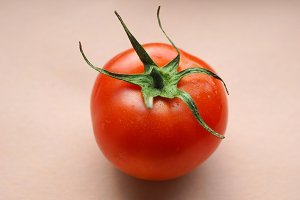 Red tomato vegetables