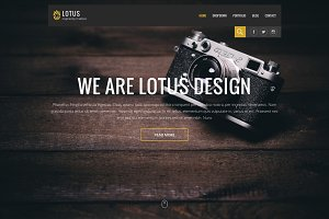 Lotus - Pro WordPress Theme