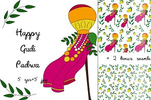 Happy Gudi Padwa celebration