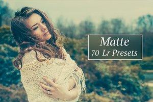 70 Matte Lr presets