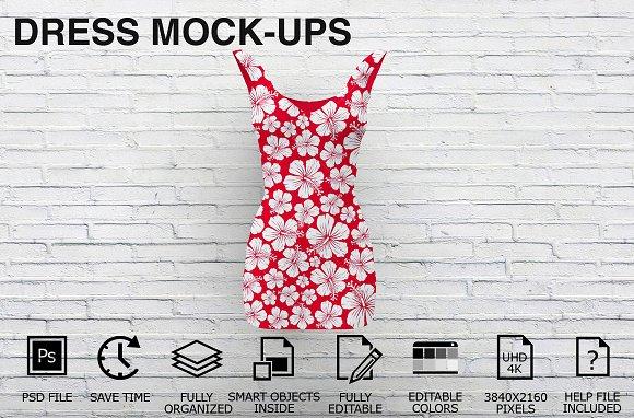 Download Dress Mockups - Clothing Mockups v3