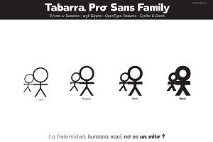 Tabarra Pro Sans Family