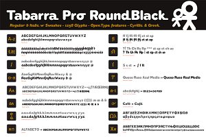 Tabarra Pro Round Black