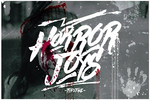 Horror Joys Typeface