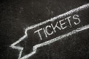 chalky tickets