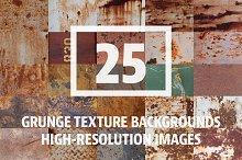 25 Grunge Metal/Rust Images Vol. 1
