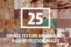 25 Grunge Metal/Rust Images Vol. 1