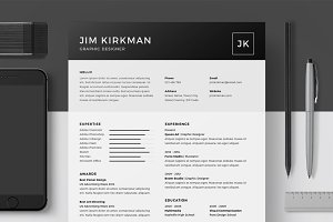 Resume/CV - Jim Kirkman