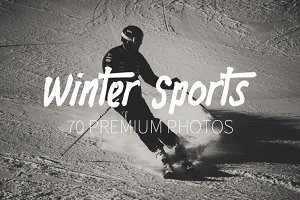 Winter Sports ~ 70 HQ Photos