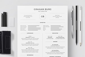 Resume/CV - Graham Burg
