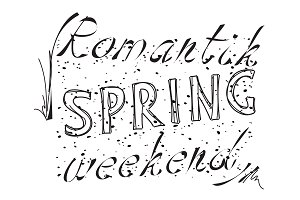Text Romantik Happy Spring Weekend