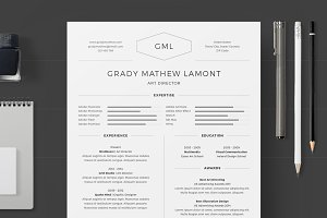 Resume/CV - Grady Mathew