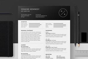 Resume/CV - Graeme Kennedy