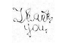 Inscription Thank You