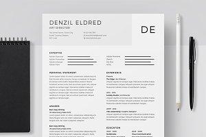 Resume/CV - Denzil Eldred