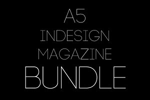 3x A5 Magazine Bundle (65% Off)
