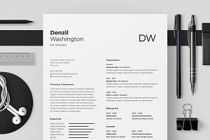 Resume/CV - Denzil Washington