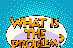 what is the problem comic bubble
