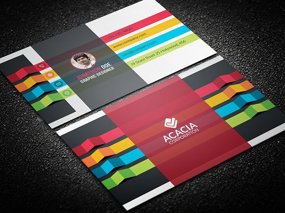 Personal business card business card templates creative market colourmoves Image collections