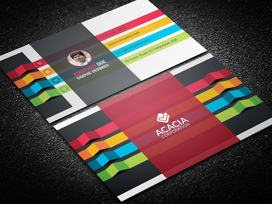 Personal business card business card templates creative market accmission Choice Image
