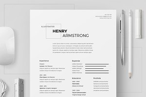 Resume/CV - Henry Armstrong