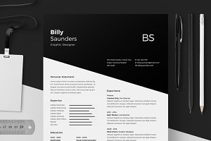 Resume/CV - Billy Saunders