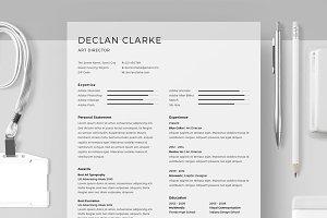 Resume/CV - Declan Clarke