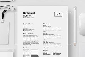Resume/CV - Nathaniel Bennett