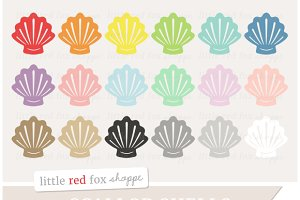 Scallop Shell Clipart