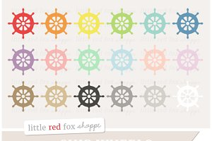 Ship Wheel Clipart