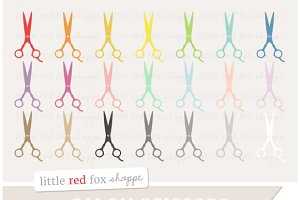 Salon Scissors Clipart