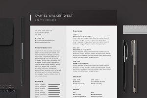 Resume/CV - Daniel Walker