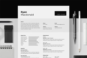 Resume/CV - Ryan Macdonald