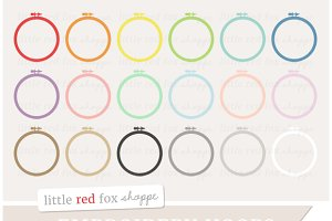 Embroidery Hoop Clipart
