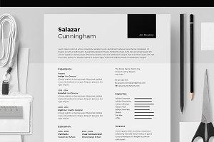 Resume/CV -  Salazar Cunningham