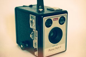 Kodak Brownie Flash III Camera