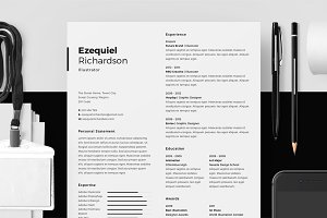 Resume/CV - Ezequiel Richardson