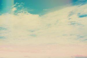 Retro Sky and Clouds III