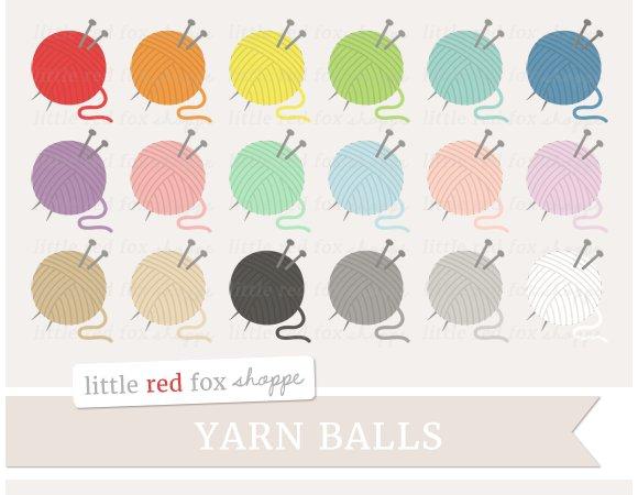 yarn ball clipart illustrations creative market