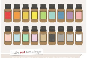 Essential Oil Bottle Clipart