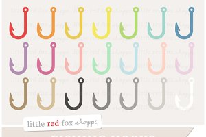 Fish Hook Clipart