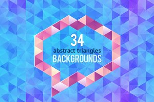 34 abstract geometric backgrounds