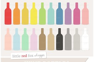 Wine Bottle Clipart