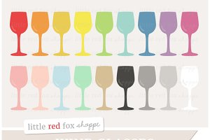 Wine Glass Clipart