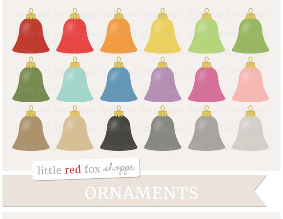 Bell Ornament Clipart