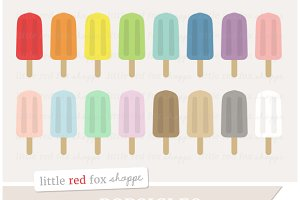 Popsicle Clipart