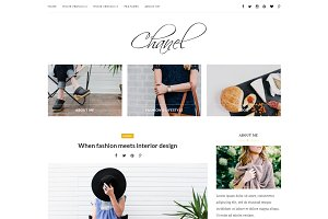 Chanel - Wordpress blog theme